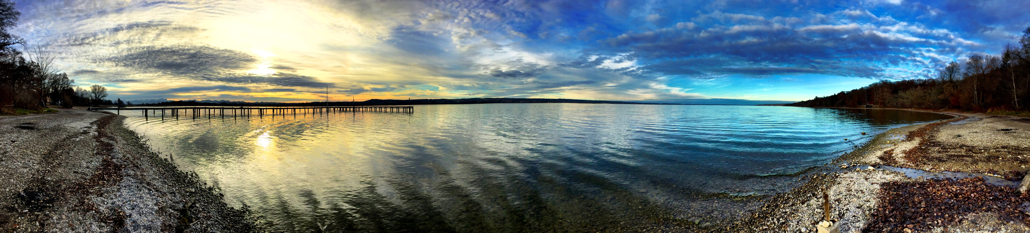 Panorama of the Ammersee